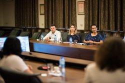 """Участници в предприемаческото събитие """"Innowave preSummit 2021 – Varna Innovation Camp"""" от Клуж-Напока гостуваха в ИУ – Варна"""
