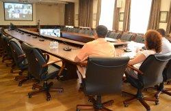 Виртуална среща на еврокомисар Мария Габриел с академичните ръководства на висши училища във Варна